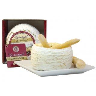 Queso Torta Artesana Cañarejal Cremoso de Oveja 280 Grs