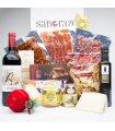 Pack Regalo Embutidos, Quesos, Dulces y Crianza Rioja 22 Pies