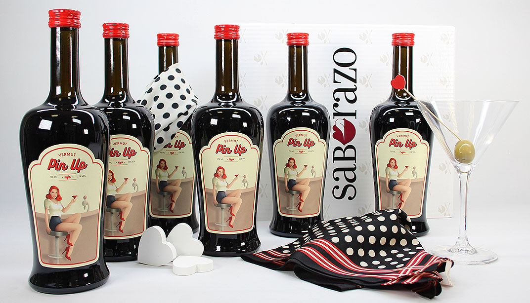 Vermut Rojo Pin Up